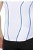 2XU Active Tri Singlet Men white/cobalt blue